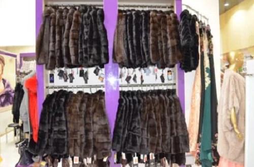 В одном из торговых центров Севастополя таможенники изъяли шуб на 30 млн. рублей