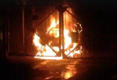 В Ялте сгорела «Chevrolet Epica»