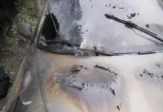 В Гурзуфе сгорел автомобиль. Поджигатель задержан