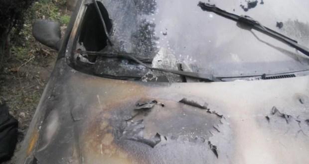 В Гуррзуфе сгорел автомобиль. Поджигатель задержан