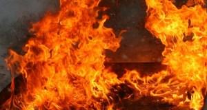 В Керчи на пожаре спасено два человека