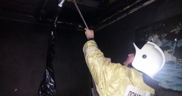 Пожар в Коктебеле: горел заброшенный дом