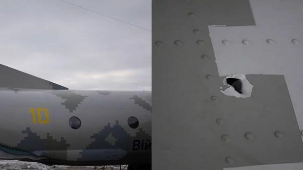 Ан-26 и дырка в фюзеляже