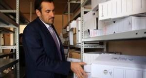 Сакское терподразделение Госкомрегистра получило помещение для размещения архива