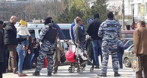 Сегодня на Центральном рынке Симферополя искали «нелегалов»