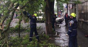 «КРЫМ-СПАС» занимался ликвидацией последствий непогоды