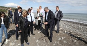 Глава Республики Крым Сергей Аксёнов проинспектировал села и пляжи Большой Алушты