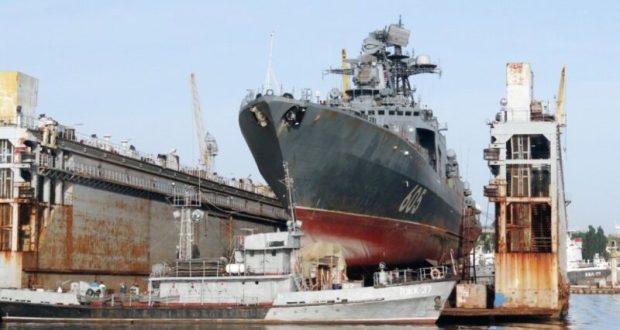13-й судоремонтный завод в Севастополе приватизируют