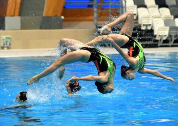 В Евпатории — детско-юношеский турнир по синхронному плаванию «Евпатория OPEN»