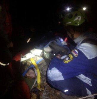 Маёвка в Крыму: 10 туристов с травмами и 11-часовая спасательная операция