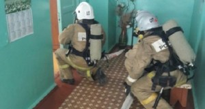 Пожар в больнице в пгт. Советском был учебным