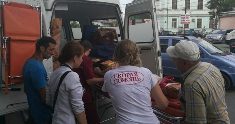 В Симферополе резонансное ДТП: девушка на иномарке сбила двух взрослых и двух детей