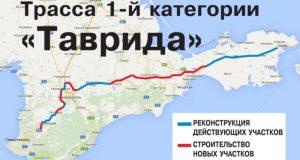 Вдоль трассы «Таврида» в Крыму построят 20 заправок и 6 станций автосервиса