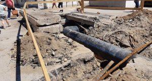 Меньше месяца, и в Феодосии – новый канализационный коллектор