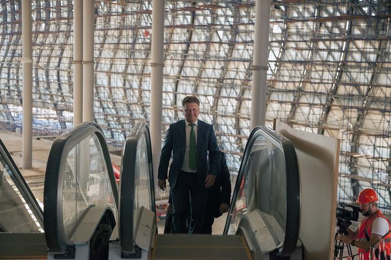 Новый терминал симферопольского аэропорта введут кначалу весны 2018г.