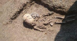 """На некрополе Кыз-Аул нашли захоронение младенца-""""инопланетянина"""""""