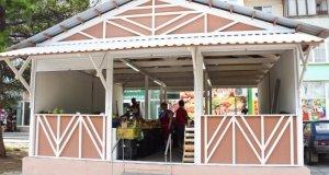 В Евпатории старые торговые павильоны меняют на новые