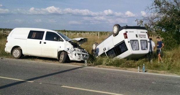 ДТП в Крыму: 14, 15 и 16 июля. Погибли два человека. Оба - водители Жигулей