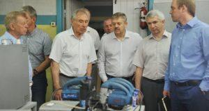 Ярославская делегация посетила симферопольский завод «Фиолент»
