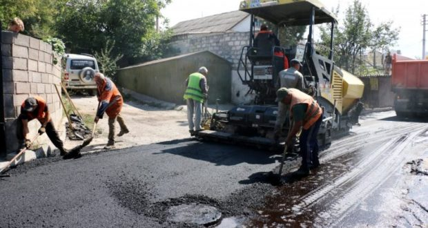 В Севастополе завершается ремонт улицы Декабристов