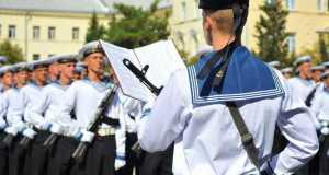 Более 200 курсантов ЧВВМУ им.Нахимова приняли военную присягу в Севастополе
