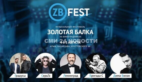 4 и 5 августа в Балаклаве - Фестиваль #ZBFest. Организаторы просят на машинах не приезжать