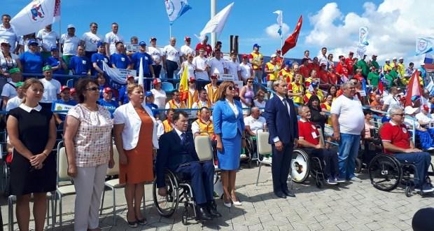 В Евпатории открылся Всероссийский физкультурно-спортивный фестиваль инвалидов «ПАРА-КРЫМ 2017»