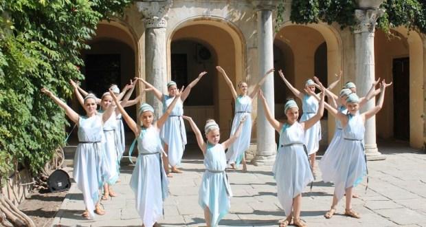 В Херсонесе Таврическом танцевали москвичи