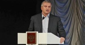 Сергей Аксёнов поздравил Дмитрия Овсянникова с избранием на должность Губернатора Севастополя