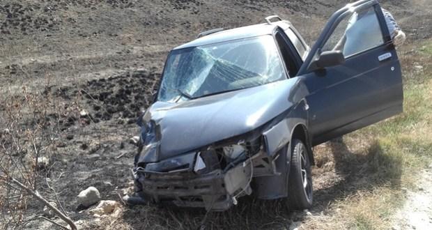 ДТП на дороге «Феодосия – Керчь». ВАЗ против «Харлея». Понадобилась помощь спасателей
