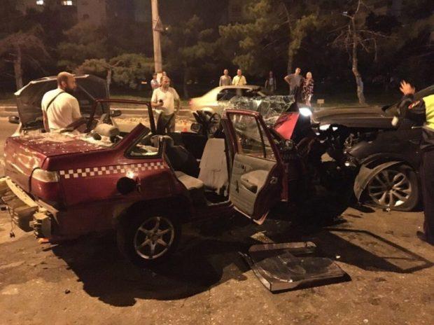 ДТП в Севастополе, 2 сентября: что такое не везёт, когда встречный водитель пьян