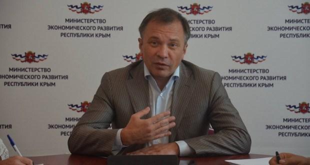 Министр экономического развития Крыма Андрей Мельников: промпроизводство выросло на 3,5%