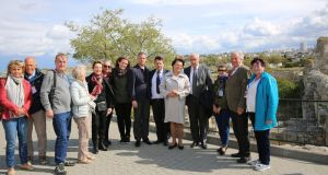 Норвежская делегация, впервые прибывшая в Крым, побывала музее «Херсонес Таврический»