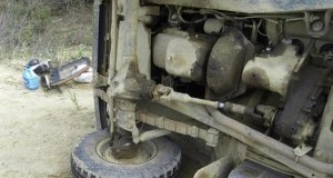 Из-за столкновения с пьяным лихачом в Крыму перевернулась машина «Скорой помощи»