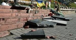 Киевский суд отпустил севастопольца, разгромившего «памятник небесной сотне»