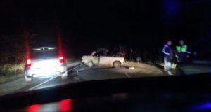 Вечернее ДТП на дороге «Симферополь – Николаевка». В лобовом столкновении погиб водитель ВАЗа