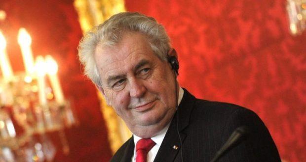 Милош Земан отказался извиняться перед Украиной. Сказал снова: Крым принадлежит России