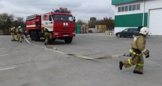 В Джанкое пожарные нагрянули в торговый центр «33м2»