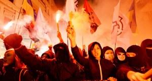 Украинские националисты готовы идти «маршем на Крым»