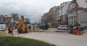 Газовщики перекрыли одну из центральных улиц Симферополя