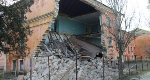 В Крыму обрушился корпус здания университета