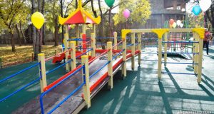 В Евпатории открыли игровой комплекс для детей с ограниченными возможностями здоровья