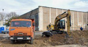 В Евпатории строят современный физкультурно-оздоровительный комплекс
