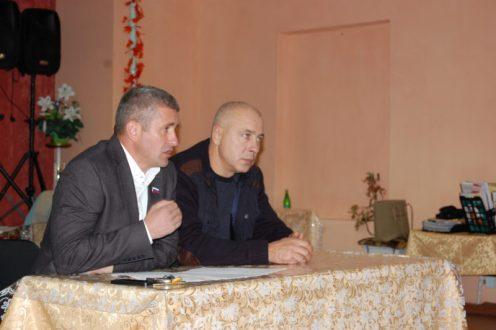 Отчет депутатов перед балаклавцами