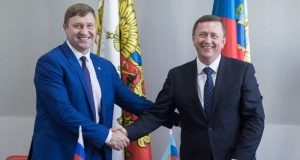 Крымский город Саки и луганская Брянка теперь побратимы