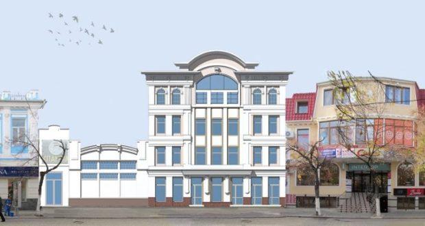 Реконструкция здания кинотеатра «Спартак» в Симферополе подразумевала снос соседнего дома?