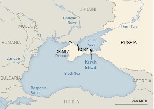«The New York Times» назвала Крым частью России, а Керченский мост – мостом Путина