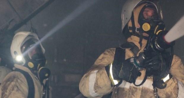 Ночной пожар в Керчи. Эвакуированы четверо жильцов двухэтажного дома