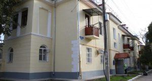 В Севастополе отремонтировали дом, в котором живет вдова прославленного героя