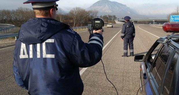 На дорогах Севастополя - проверка соблюдения скоростного режима
